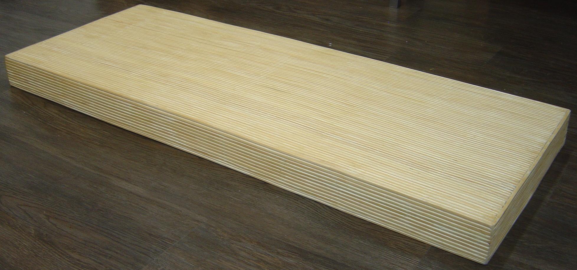Appendini e moduli mensola tamburata in stik bamboo for Mensola tamburata